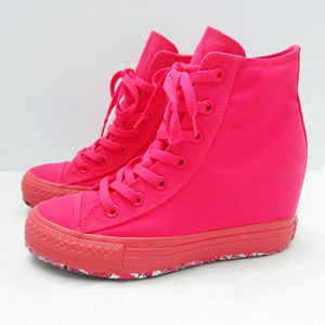 CONVERSE || Neon CTAS Lux Mid [Hidden] Wedge Shoes